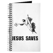Jesus Saves Soccer Journal