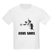 Jesus Saves Soccer T-Shirt