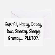Pluto the Eighth Dwarf Greeting Cards (Pack of 6)