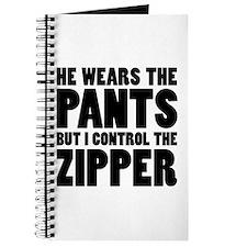 Pants Zipper Journal