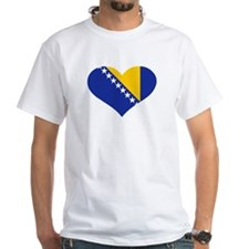 Bosnia and Herzegovina flag heart Shirt
