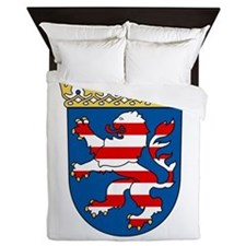 Coat of arms of Hesse Queen Duvet