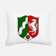 North Rhine-Westfalia Rectangular Canvas Pillow