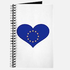 Europe EU flag heart Journal