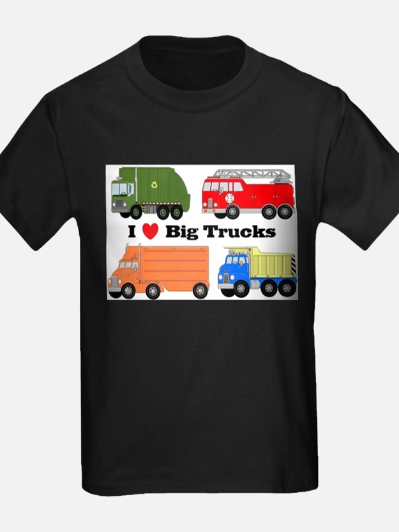 I Heart Big Trucks T