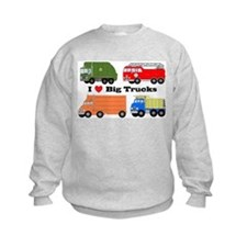 I Heart Big Trucks Jumpers