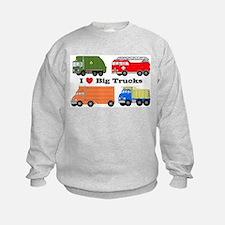 I Heart Big Trucks Sweatshirt