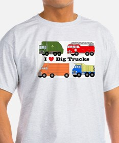 I Heart Big Trucks T-Shirt