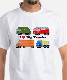 I Heart Big Trucks Shirt