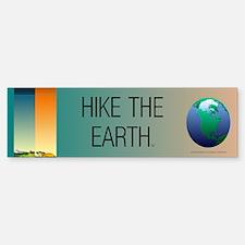 TOP Hike the Earth Sticker (Bumper)
