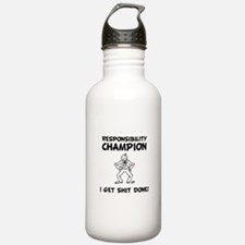 Responsibility Champion Water Bottle