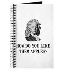 Sir Isaac Newton Apple Journal