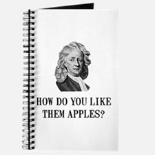Sir Isaac Newton Apple Journal