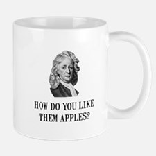 Sir Isaac Newton Apple Small Small Mug