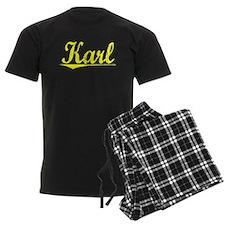Karl, Yellow Pajamas