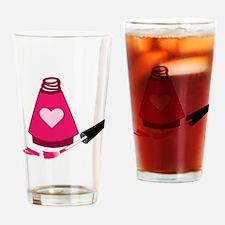 Nail Polish Manicure Drinking Glass