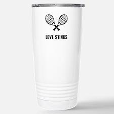 Tennis Love Stinks Travel Mug