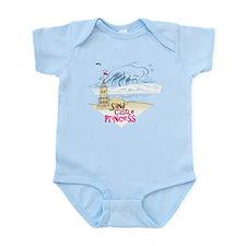 Sand Castle Princess Infant Bodysuit