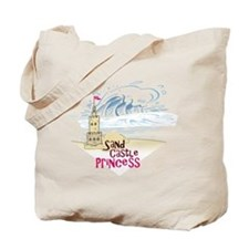 Sand Castle Princess Tote Bag