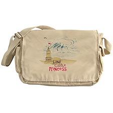 Sand Castle Princess Messenger Bag