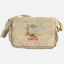 Sand Castle Princess Messenger Bag