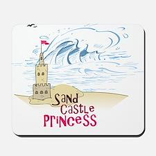 Sand Castle Princess Mousepad