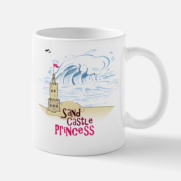 Sand Castle Princess Mug