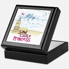 Sand Castle Princess Keepsake Box