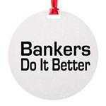 banker32.png Round Ornament