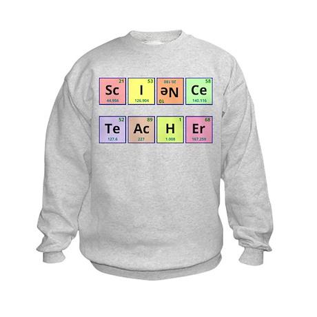 Science Teacher Kids Sweatshirt