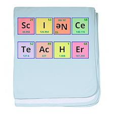 Science Teacher baby blanket