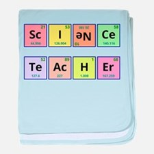 Science Teacher baby blanket