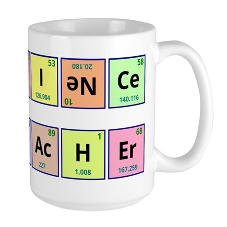 Science Teacher Large Mug