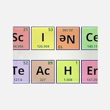 Science Teacher Rectangle Magnet