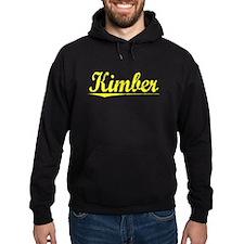 Kimber, Yellow Hoodie