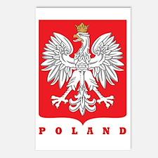 Polish Main Eagle Crest Postcards (Package of 8)
