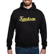 Knutsen, Yellow Hoodie