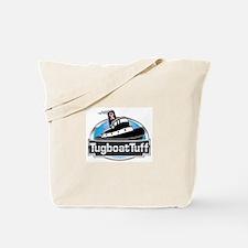 Breast Cancer Awareness Tugboat Tote Bag
