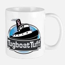 Breast Cancer Awareness Tugboat Mug