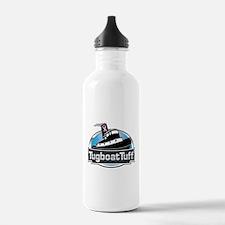 Breast Cancer Awareness Tugboat Water Bottle