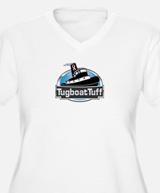 Breast Cancer Awareness Tugboat T-Shirt