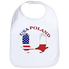 Poland USA Bib