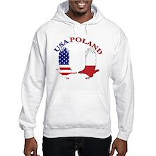 Poland USA Hoodie