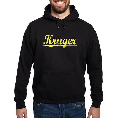 Kruger, Yellow Hoodie (dark)