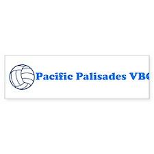 Pacific Palisades VBC Bumper Bumper Sticker