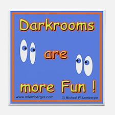Fun Darkrooms Tile Coaster