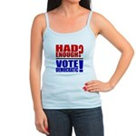 Had Enough? Vote Democratic! Jr. Spaghetti Tank