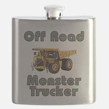 Monster Trucks on Steroids Flask