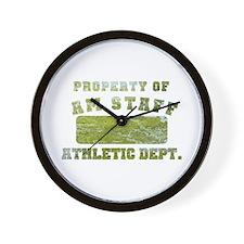 Property of AmStaff Wall Clock