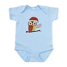 Santa Owl Christmas Infant Bodysuit